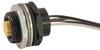 Single Key Micro-Link Receptacle, Female, 3 pole, 1', Back Panel Mount, 18 AWG -- 303W0010N - Image