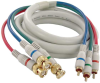 12ft Python HDTV 3 BNC to 3 RCA Cable -- 254-712IV - Image