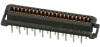 Board and Wire Connectors, 1.27 mm (0.050 in.), Modulemate Series, Length (Tail)=1.95 mm (0.077 in.) min., 2.55 mm (0.1 in.) max. -- 74193-170 - Image