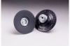 3M 14216 Hard Black Roloc TS and TSM Disc Pad - 3 in DIA - Internal Thread Attachment -- 051144-14216 -- View Larger Image