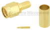 SMA Male Connector Crimp/Solder Attachment For RG55, RG142, RG223, RG400 Cable -- SC7050 -Image