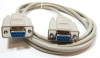 10ft DB9 F/F Null Modem Cable -- NU33-10 - Image