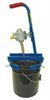 Pail mixer with rim clamp; 1/2- to 1-hp air drive, requires 22 to 40 CFM at 40 to 80 psi -- EW-50500-30