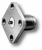 RF Coaxial Panel Mount Connector -- 5268-1 -Image