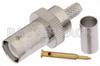RP BNC Female Connector Crimp/Solder Attachment For RG55, RG141, RG142, RG223, RG400 -- PE4737 -Image