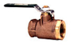Standard Port Bronze Ball Valve -- Series B6000-SS