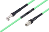 Temperature Conditioned SMA Male Right Angle to TNC Male Low Loss Cable 24 Inch Length Using PE-P300LL Coax -- PE3M0233-24 -Image