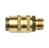 Series 200 - 300 - 500 Straight Couplers Male Thread -- W-WF-DC20/00M14
