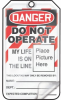 Danger Do Not Operate Life On Line Lockout Tags -- LCK300