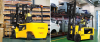 Electric Forklift with Pneumatic Tires -- 35/40B-7 -- View Larger Image