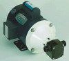 Industrial Epoxy Plastic Pumps/Flow 1750 rpm-10ft head-20.1 gpm: Port Size Inch-1 NPT External -- 98062 - Image