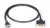 Locking HDMI-to-DVI Cable, 2-m (6.5-ft.) -- VCL-HDMIDVI-002M