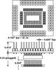 QFP Land Socket -- LS-QFE144S-Z-01
