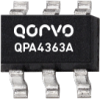 DC - 4000 MHz Cascadable SiGe HBT MMIC Amplifier -- QPA4363A - Image