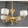 Ornate Four Arm Gas Chandelier -- P-40144WS
