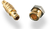 01 Series - Smallest Self-Latching Coaxial 50 Ohm Connectors
