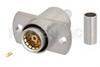 BMA Jack Slide-On Connector Crimp/Solder Attachment 2 Hole Flange Mount for RG316, RG188, RG174, LMR-100A, PE-C100-LSZH -- PE45321 -Image