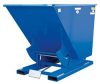 Self-Dumping Steel Hoppers with Bumper Release: Light Duty - 12 Gauge Steel -- D-75-LD
