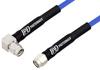 SMA Male to SMA Male Right Angle Precision Cable 12 Inch Length Using PE-P141 Coax, RoHS -- PE351-12 -Image