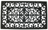 WROUGHT IRON RUBBER MAT - SQUARE -- 1682