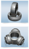 Bearing Parts -- Tripot CV Joint Components / Trunnion Rings