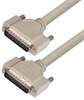 Deluxe Molded D-Sub Cable, HD44 Male / Male, 10.0 ft -- HAD00005-10F -Image