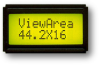 LCD Character Module -- ASI-82A