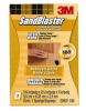 3M SandBlaster Aluminum Oxide Sanding Sponge 180 Grit - 2 1/2 in Width x 3 3/4 in Length - 11517 -- 051111-11517