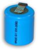 1/2 D NiCd Rechargeable Battery -- 30300 - Image