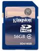 Kingston - SDHC 16GB Class 4
