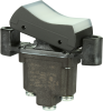 TP Series Rocker Switch, 1 pole, 2 position, Screw terminal, Flush Panel Mounting -- 1TP1-3 - Image