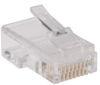 RJ45 Plug for Flat Solid / Stranded Conductor Cable -- N030-100-FL