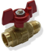 Brass Ball Valve -- s. 95 NPT spring return