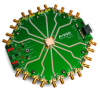 MiniPOD Evaluation Board For MiniPOD Pluggable Parallel-Fiber-Optics Modules -- AFBR-800EVK