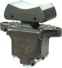 TP Series Rocker Switch, 2 pole, 3 position, Screw terminal, Above Panel Mounting -- 2TP16-1 -Image