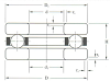 Thrust Bearing -- F Series: F4-9 -Image