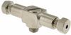 "1/16"" OD Tubing Compression Fitting -- SMCBT-1016 -- View Larger Image"