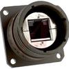 connector,metal circular,panel mount recept,rj45 ethernet,olive drab finish -- 70027020