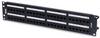 CAT5E Patch Panel, REVConnect -- RV5PPF2U48BK -Image