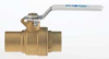 Ball Valve,1.5 In,Solder,Brass,Lead-Free -- 5EMT8