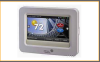 High Resolution Color Touch Screen Digital Room Thermostats - Image