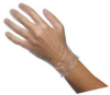 Disposable Gloves,PVC,XL,Clear,PK100 -- 2RXY1
