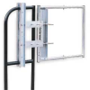 Adj Safety Gate,16 to 26 In,Gray -- 3UU95 - Image