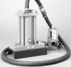 Pneumatic Piston Vibrator -- LI Series -- View Larger Image