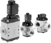 Vacuum Poppet Valve - Solenoid Pilot & Air Pilot Actuated -- NG Series - Image