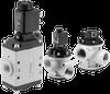 Vacuum Poppet Valve - Solenoid Pilot & Air Pilot Actuated -- NG Series