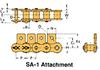 BS/DIN Chain Attachment Series -- RS08B SA-1 - Image