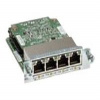 Cisco Gigabit EtherSwitch EHWIC - Switch - managed - 4 x 10/ -- EHWIC-4ESG=