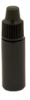 3cc Black Cylinder Bottle with 8 mm Dropper Cap -- 66543