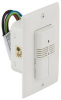 SQUARE D - SLSUWD1277UW - OCCUPANCY SENSOR, ULTRASONIC DUAL CIRCUIT WALL SWITCH, 120-277VA -- 407756